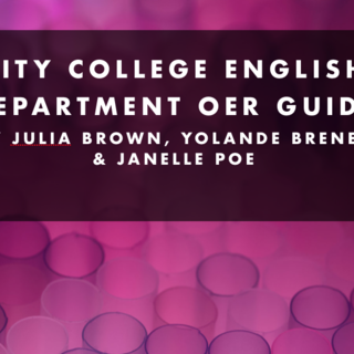 View City College English Department OER Guide