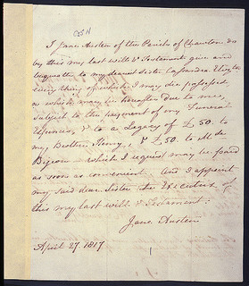 View Letters of Jane Austen
