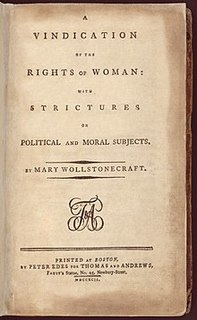 Thumbnail image for A Vindication of the Rights of Woman / With Strictures on Political and Moral Subjects